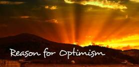 Reason for optimism