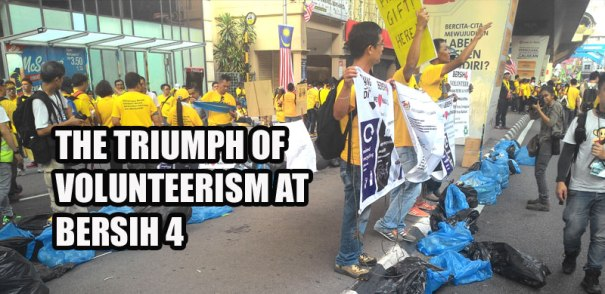 VolunteerismAtBersih4
